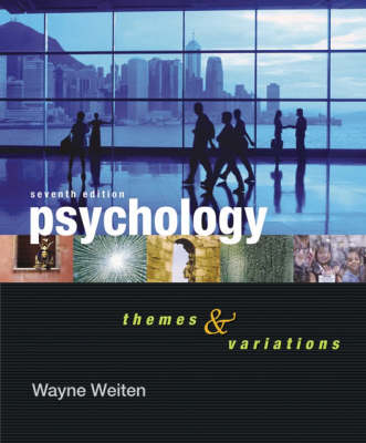 Psychology: Themes and Variations - Thomson Advantage Books (Paperback)