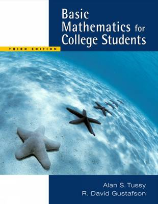 Basic Mathematics for College Students: WITH CD-Rom AND 1pass for Ilrno Tutorial/Tle Labs/Student Resource Center/Mathematicsnow