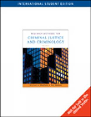 Research Methods for Criminal Justice and Criminology (Paperback)