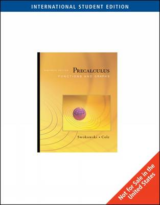 Precalculus: Functions and Graphs (Paperback)