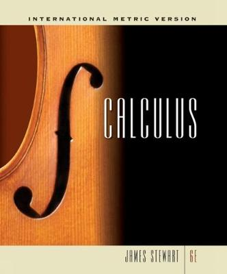 Calculus, International Metric Edition (Hardback)
