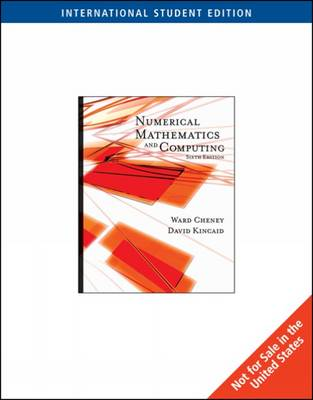 Numerical Mathematics and Computing (Paperback)