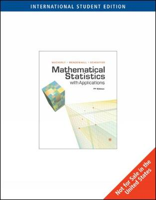 Mathematical Statistics with Applications, International Edition (Paperback)