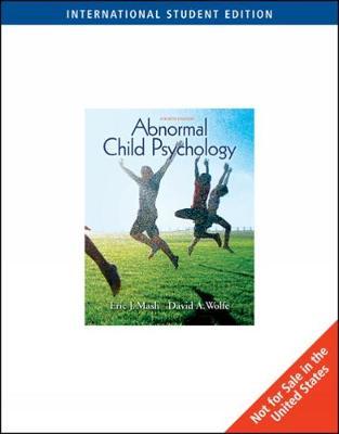 Abnormal Child Psychology, International Edition (Paperback)
