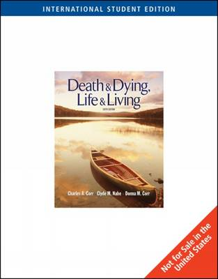 Death and Dying: Life and Living (Paperback)