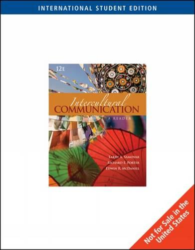 Intercultural Communication: A Reader (Paperback)