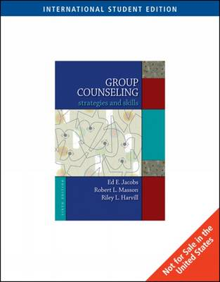 Group Counseling: Strategies and Skills (Paperback)