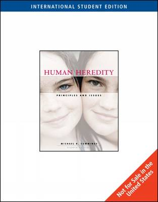 Human Heredity: Principles and Issues (Paperback)