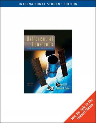 Differential Equations with Boundary-Value Problems, International Edition (Paperback)