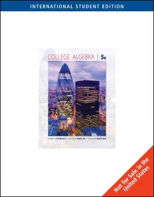 College Algebra, International Edition (Paperback)
