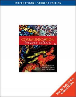 Communication Between Cultures, International Edition (Paperback)