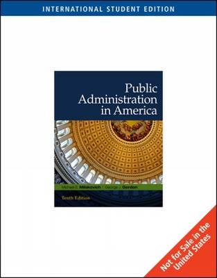 Public Administration in America (Paperback)