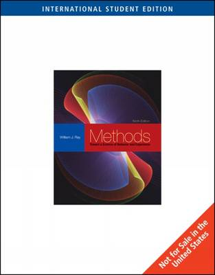 Methods Toward a Science of Behavior and Experience (Paperback)