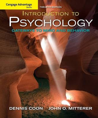 Introduction to Psychology: Gateways to Mind and Behavior - Cengage Advantage Books (Paperback)