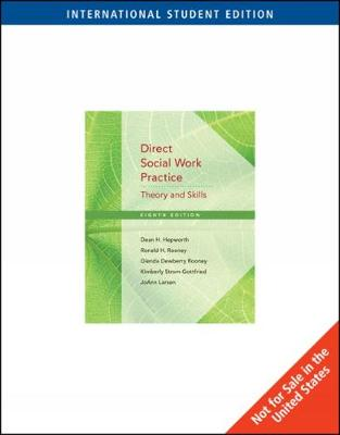 Direct Social Work Practice: Theory and Skills, International Edition (with DVD) (Paperback)