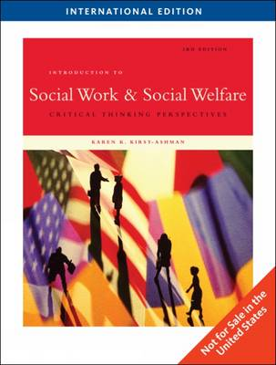 Introduction to Social Work and Social Welfare: Critical Thinking Perspectives (Paperback)