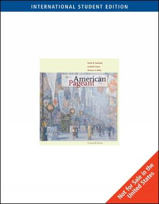The American Pageant, International Edition (Paperback)