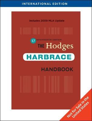 The Hodges Harbrace Handbook, International Edition (Paperback)