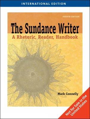 The Sundance Writer, International Edition (Paperback)