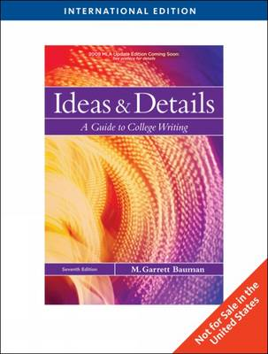 Ideas and Details: A Guide to College Writing (Paperback)