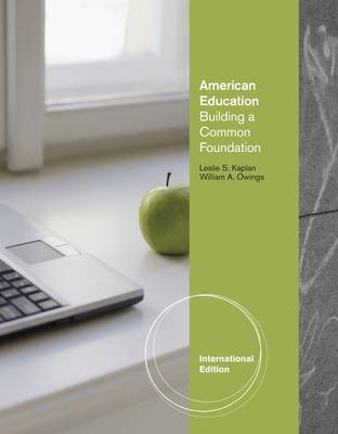 American Education: Building a Common Foundation (Paperback)