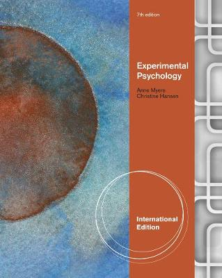 Experimental Psychology, International Edition (Paperback)