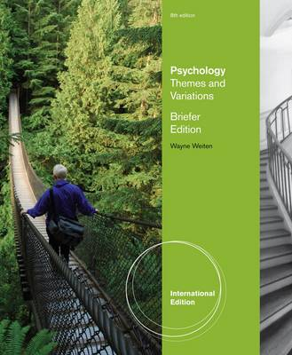 Psychology: Themes and Variations, Briefer Edition (Paperback)