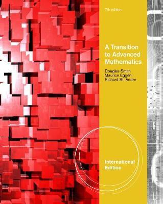 A Transition to Advanced Mathematics, International Edition (Paperback)