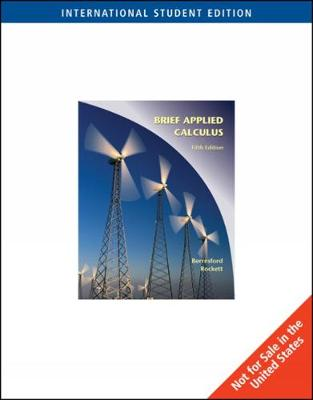 Applied Calculus, Brief International Edition (Paperback)