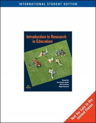 Introduction to Research in Education, International Edition (Paperback)