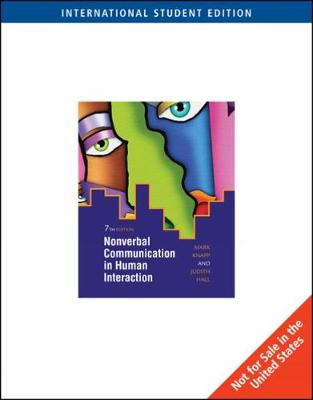 Nonverbal Communication in Human Interaction, International Edition (Paperback)