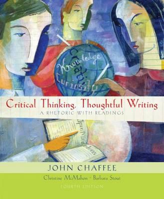 Critical Thinking, Thoughtful Writing (Paperback)