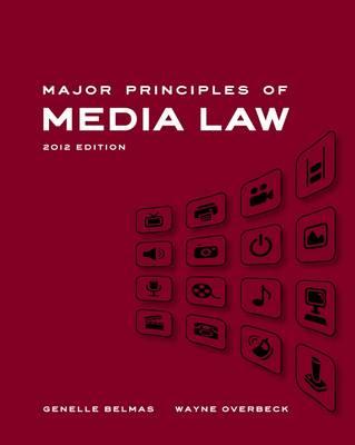 Major Principles Of Media Law 2012 (Paperback)