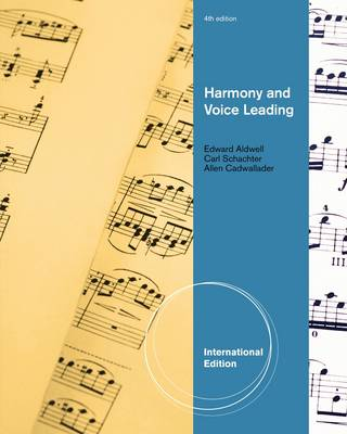 Harmony and Voice Leading (Paperback)