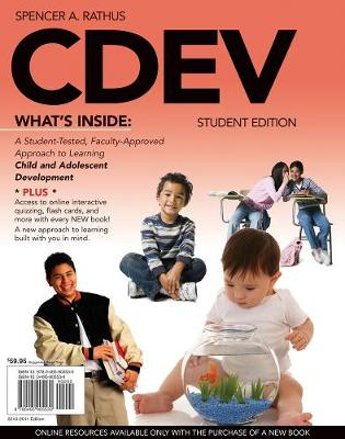 CDEV (with Review Card and CourseMate with eBook, 1 term (6 months) Printed Access Card)