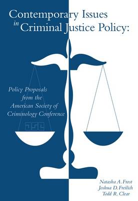 Contemporary Issues in Criminal Justice Policy (Paperback)