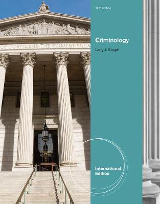 Criminology, International Edition (Hardback)