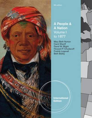 A People and a Nation: To 1877 v. 1: A History of the United States (Paperback)