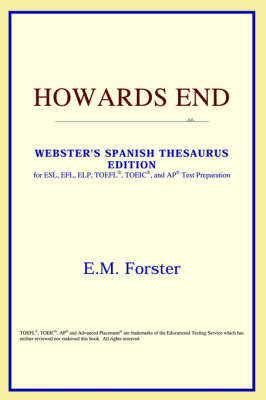Howards End (Webster's Spanish Thesaurus Edition) (Paperback)