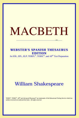 Macbeth (Webster's Spanish Thesaurus Edition) (Paperback)