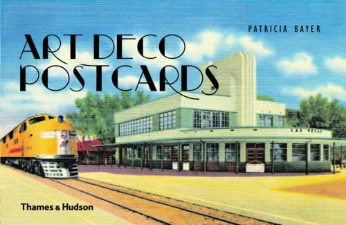 Art Deco Postcards (Paperback)