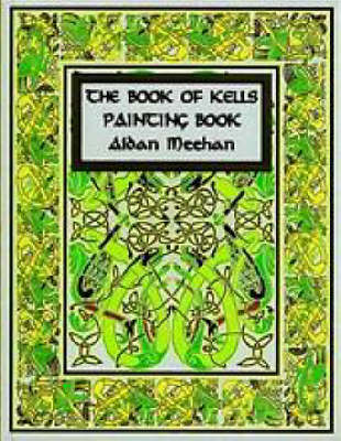 """""""The Book of Kells Painting Book (Paperback)"""