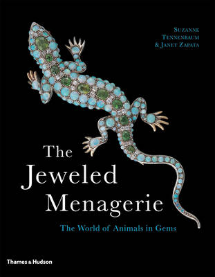 The Jeweled Menagerie: The World of Animals in Gems (Paperback)