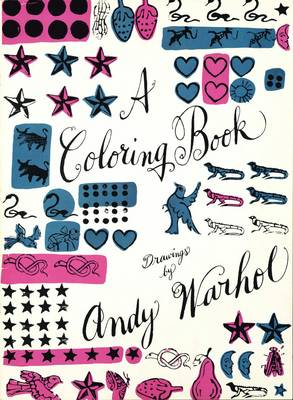 A Coloring Book: Drawings by Andy Warhol (Paperback)