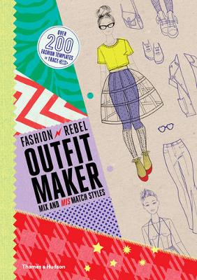 Fashion Rebel Outfit Maker: Mix and Mismatch Styles! (Paperback)