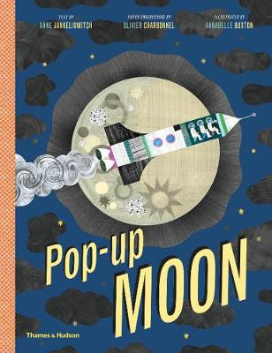 Pop-Up Moon (Hardback)