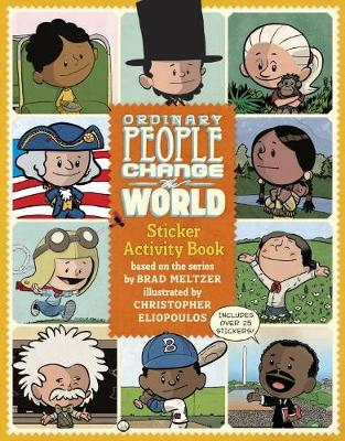 Ordinary People Change the World Sticker Activity Book (Paperback)