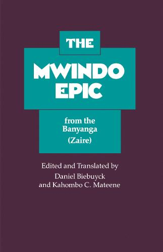 The Mwindo Epic from the Banyanga (Zaire) (Paperback)