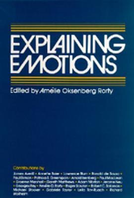 Explaining Emotions - Topics in Philosophy 5 (Paperback)