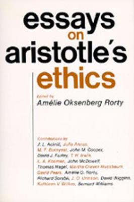 Essays on Aristotle's Ethics - Philosophical Traditions 2 (Paperback)